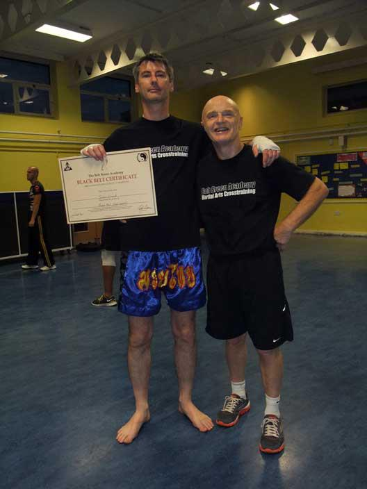 BOB BREEN BLACK BELT CERTIFICATE