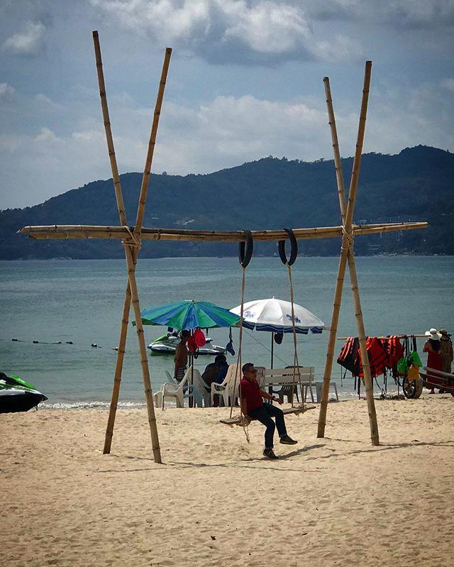 Nice way to enjoy #patongbeach #phuketthailand