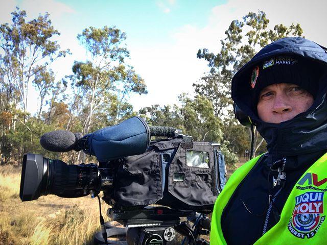 Was a bit of a chilly day at #morganparkraceway #warwick #australiansuperbikes #asbk #motorsport #livetv #livestream #cameraman