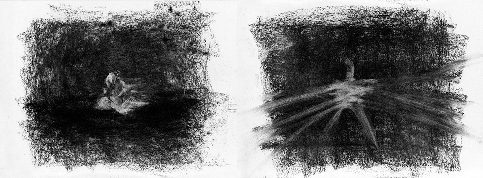 Sketches for emotive states: waxing and waning by Argyris Angeli.