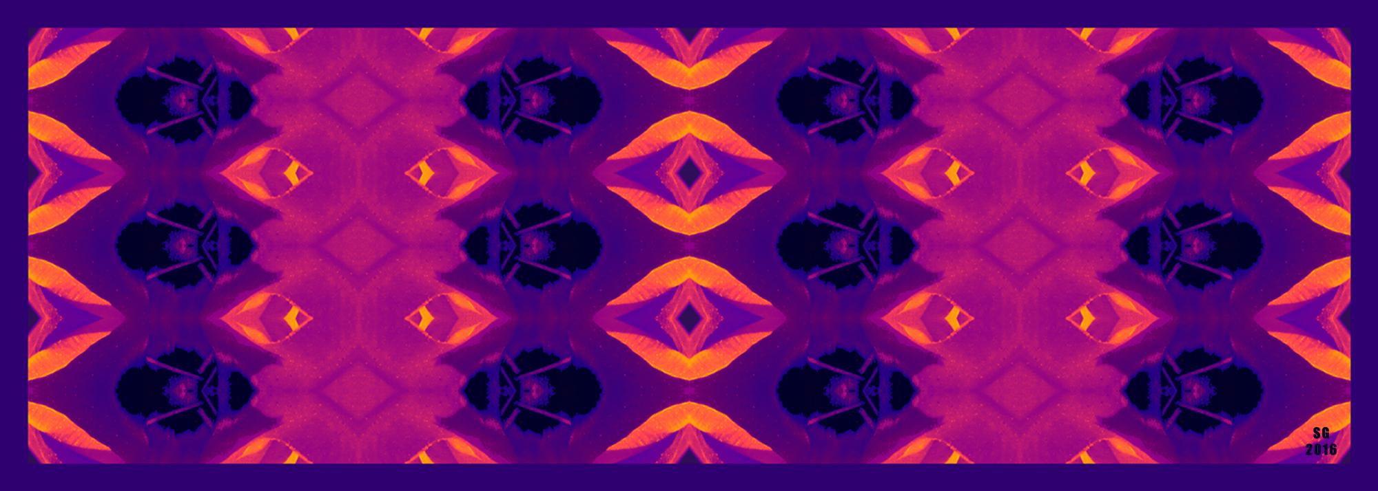 Tulip - Scarab Beetle - Purple