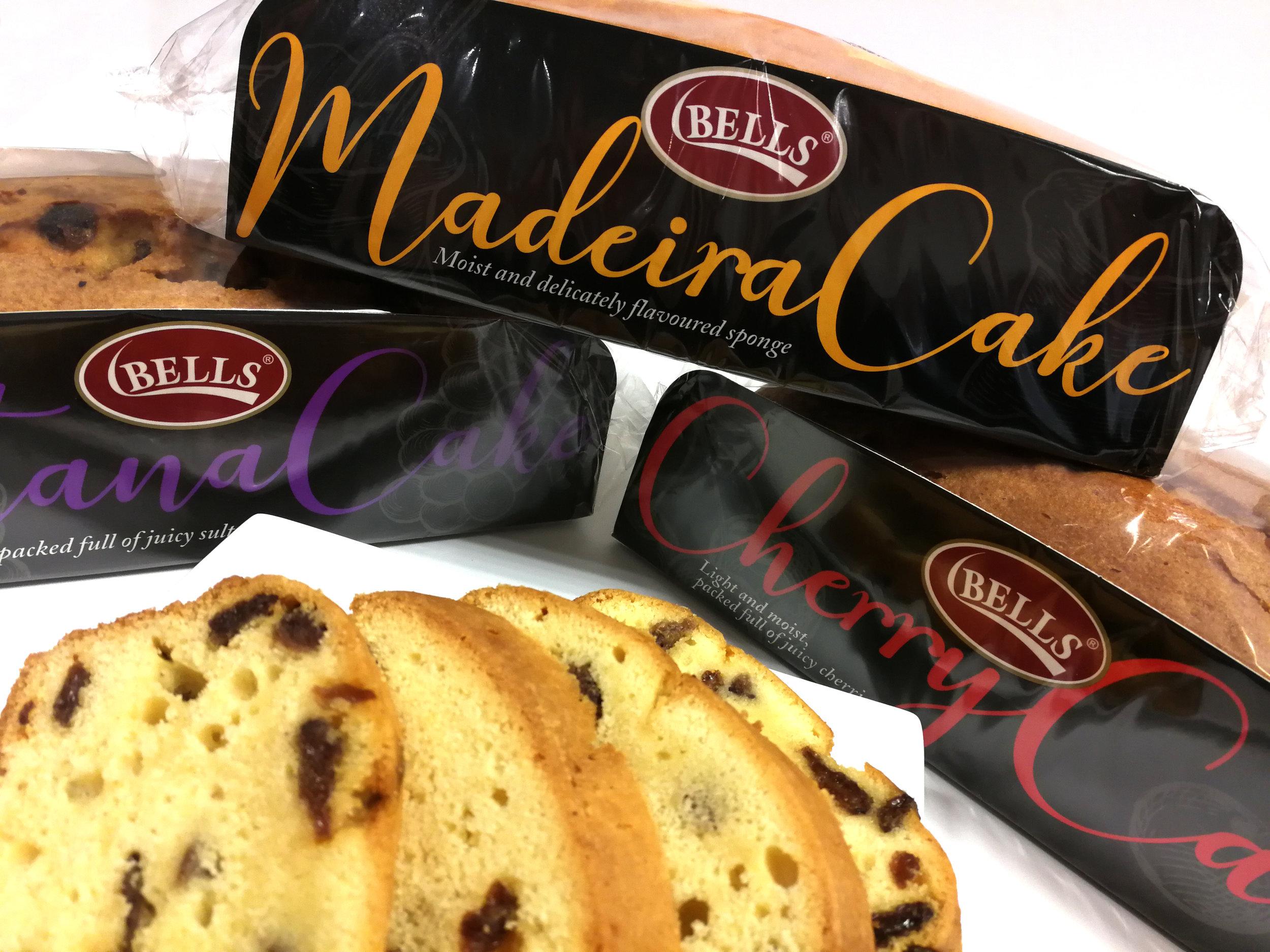 Bells Festive Loaf Cakes