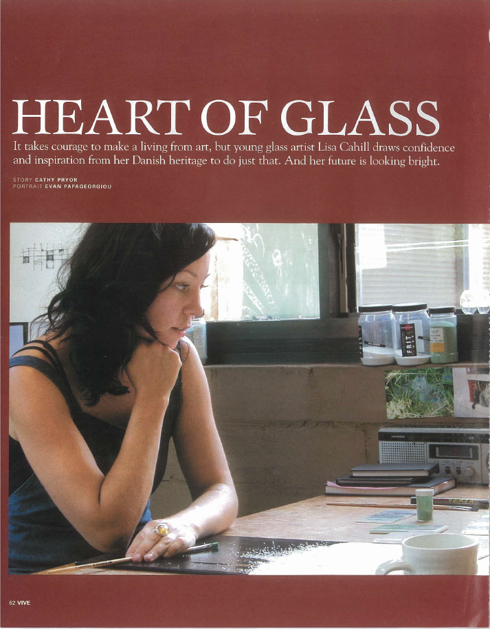 Lisa Cahill Heart of Glass