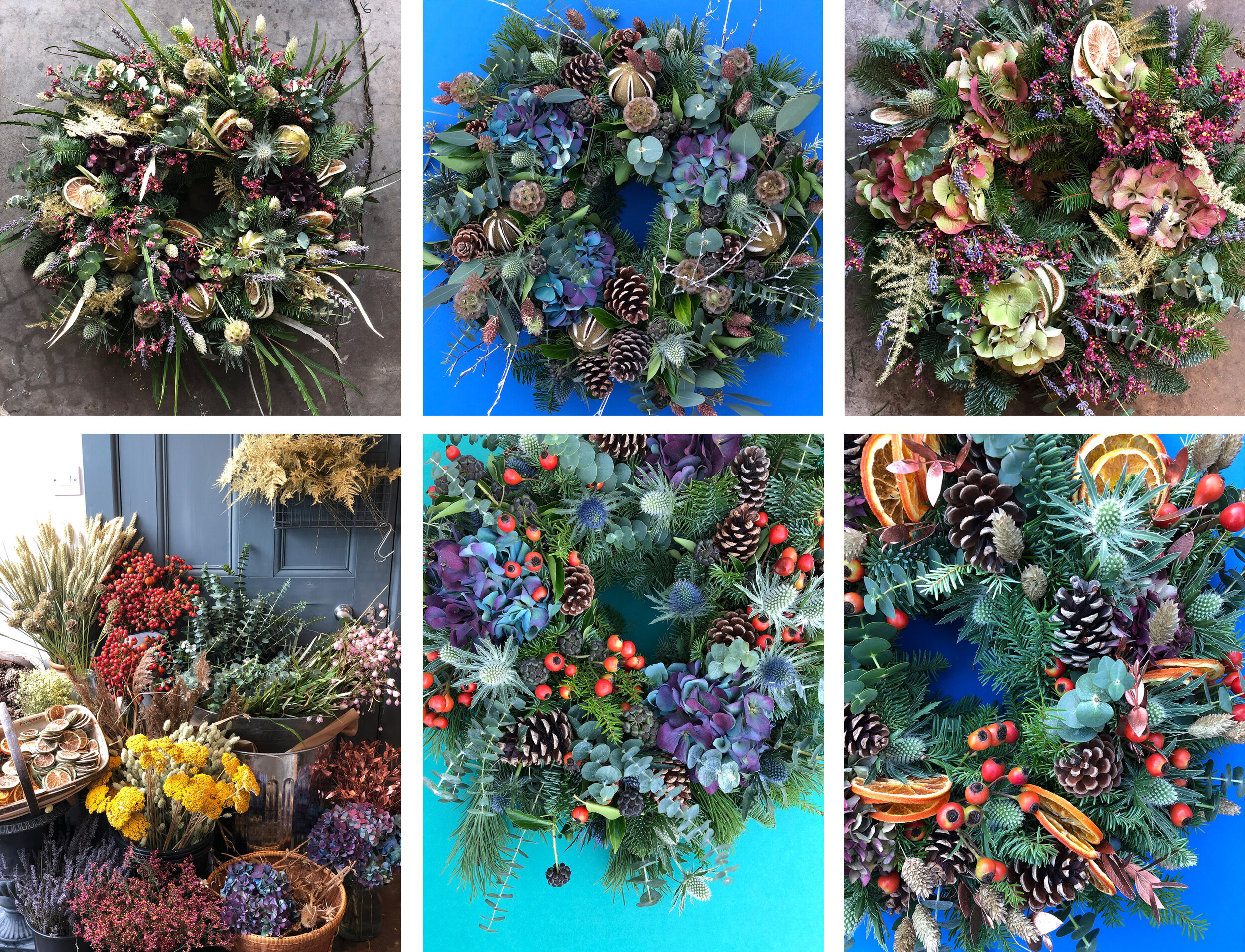 Christmas Wreath Making - Learn how to make a large door wreath this December. All abilities welcome!