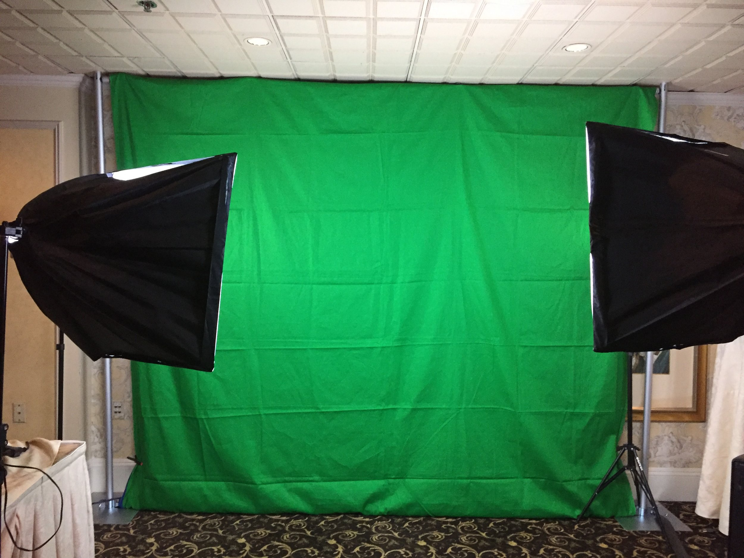 Open Air Green Screen
