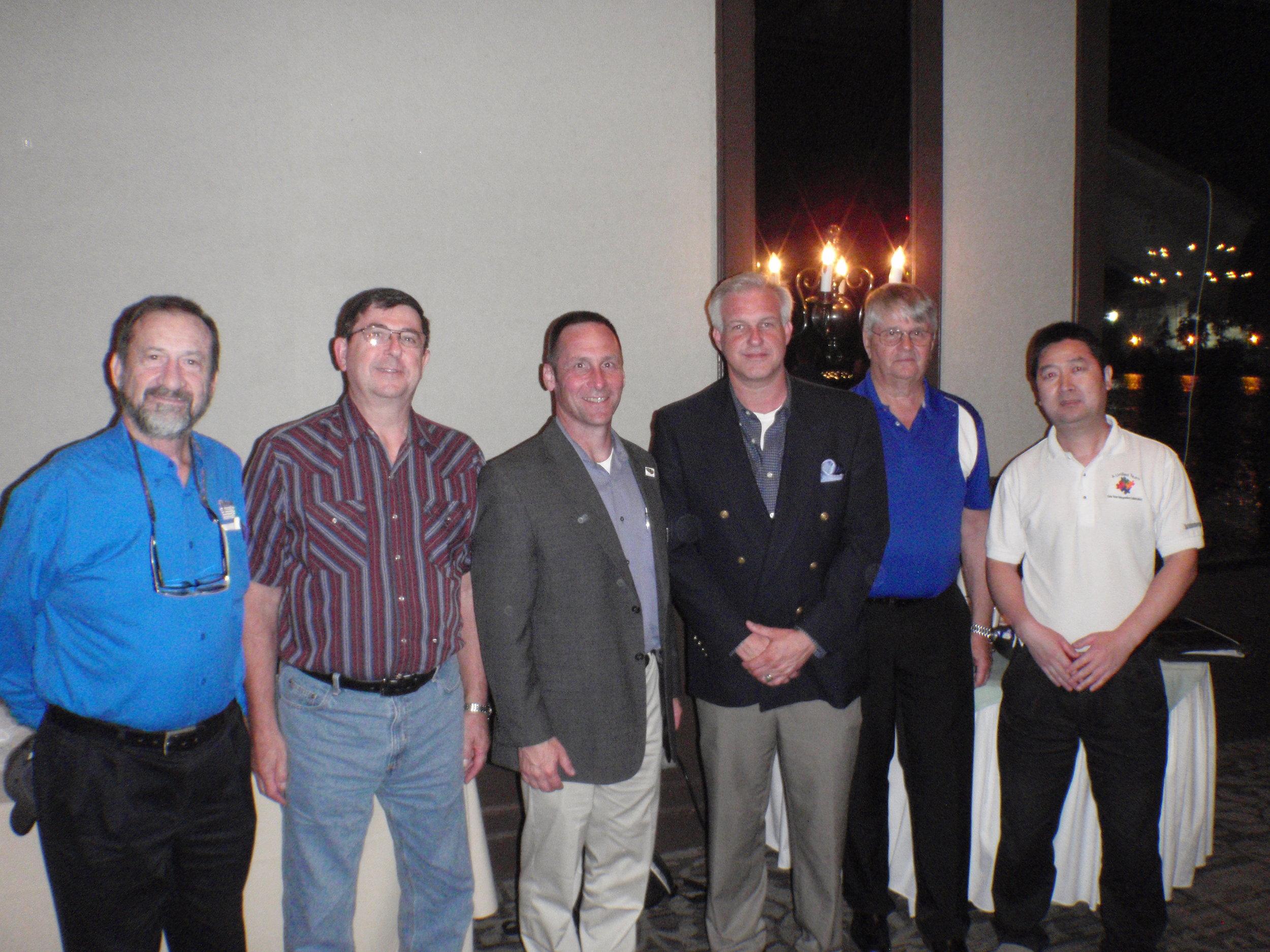 Past GHASNT Section Chairs: Syl Viaclovsky, Jerry Fulin, Jeff Wagner, John T. Iman, Joe Mackin, and John Chen