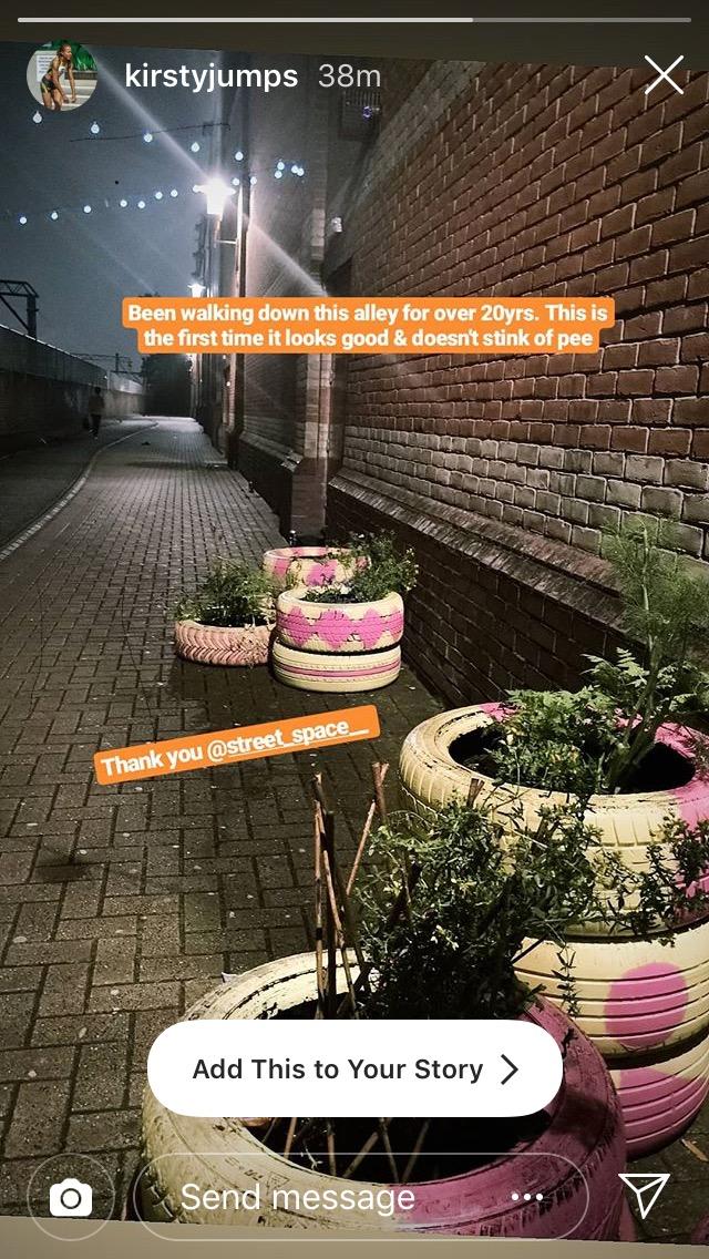 Resident feedback via Instagram