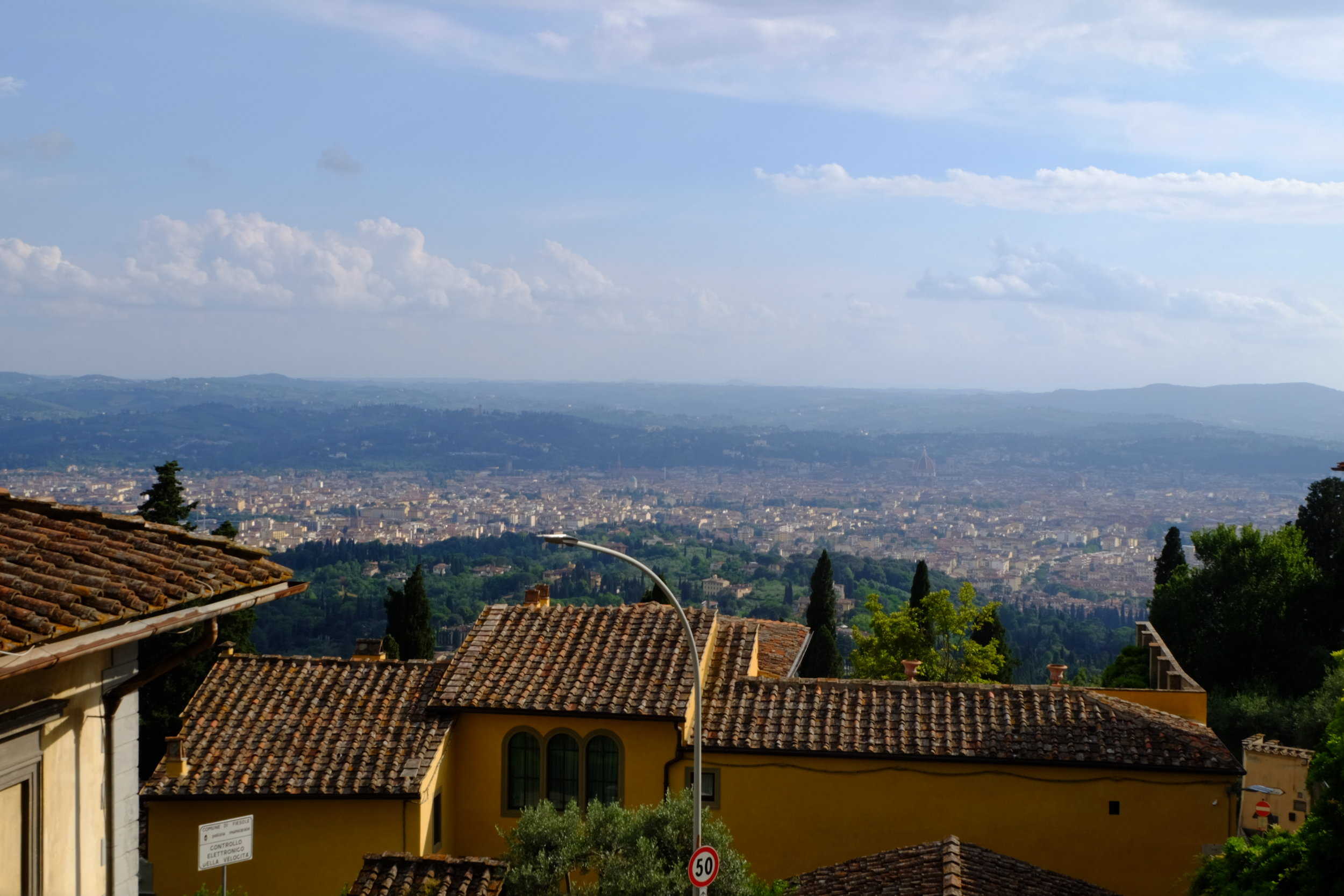 Italy Bucket List Trip Day 6 Florence Fiesole House Horn