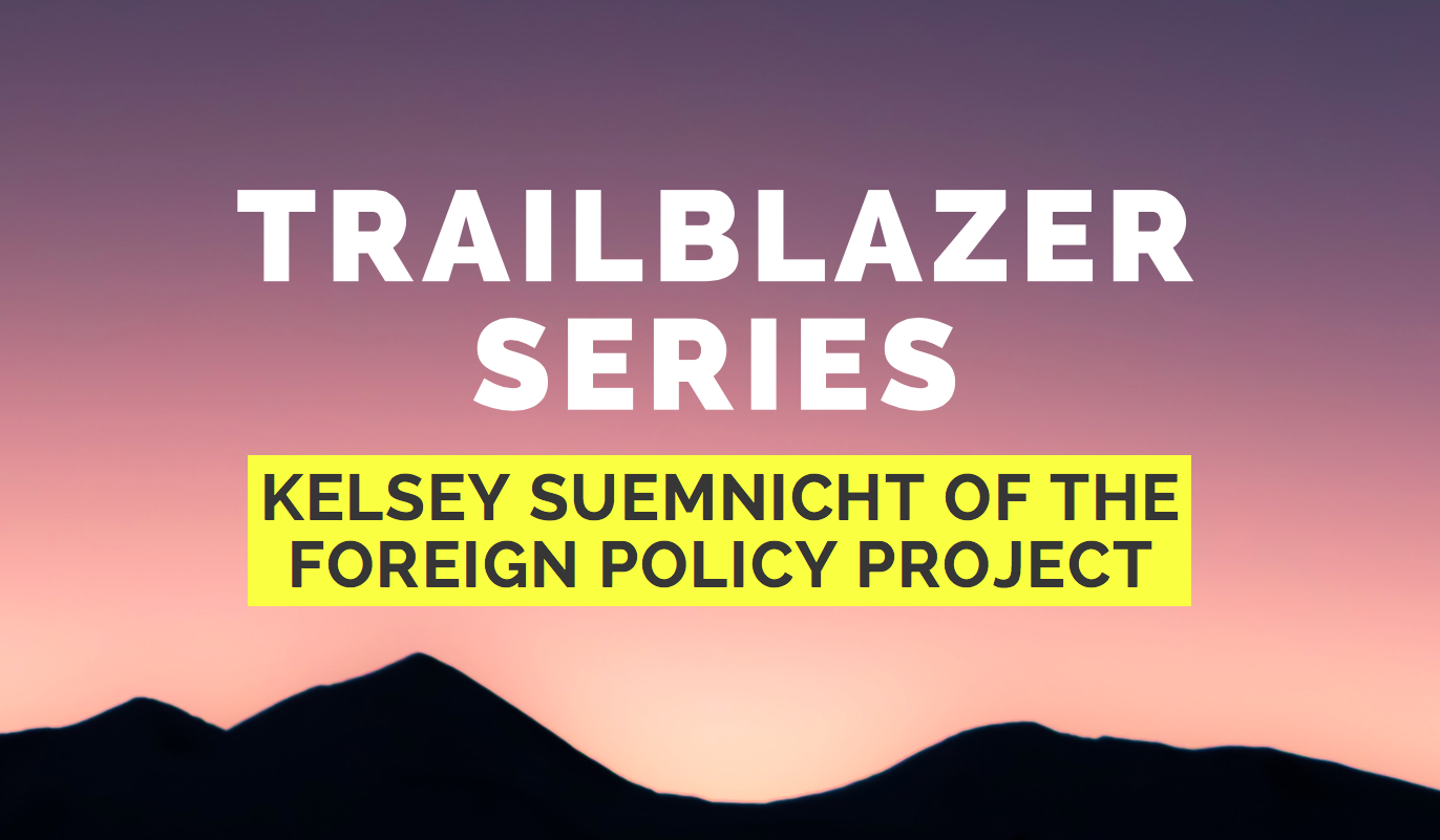 Kelsey Suemnicht Foreign Policy Project Feminist