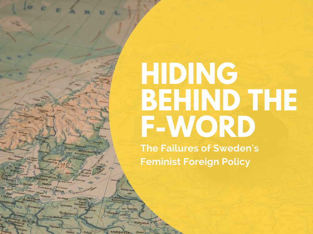Annina Claesson Feminist Foreign Policy Sweden