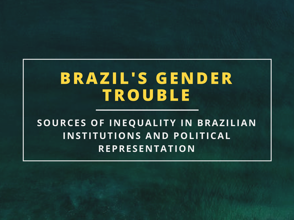 Ana Balbachevsky Guilhon Albuquerque Centre for Feminist Foreign Policy Brazil Gender Trouble Inequality Feminism