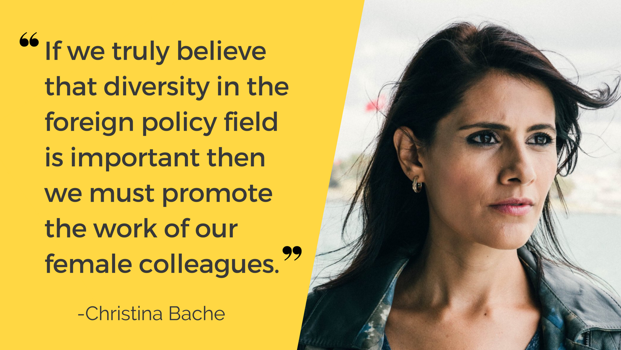 Christina Bache Centre for Feminist Foreign Policy