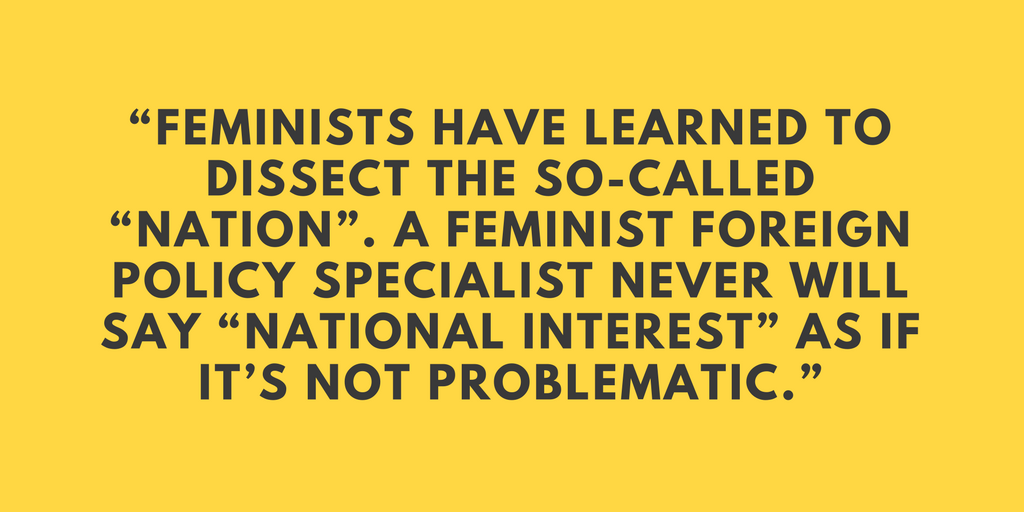 Cynthia Enloe Centre for Feminist Foreign Policy