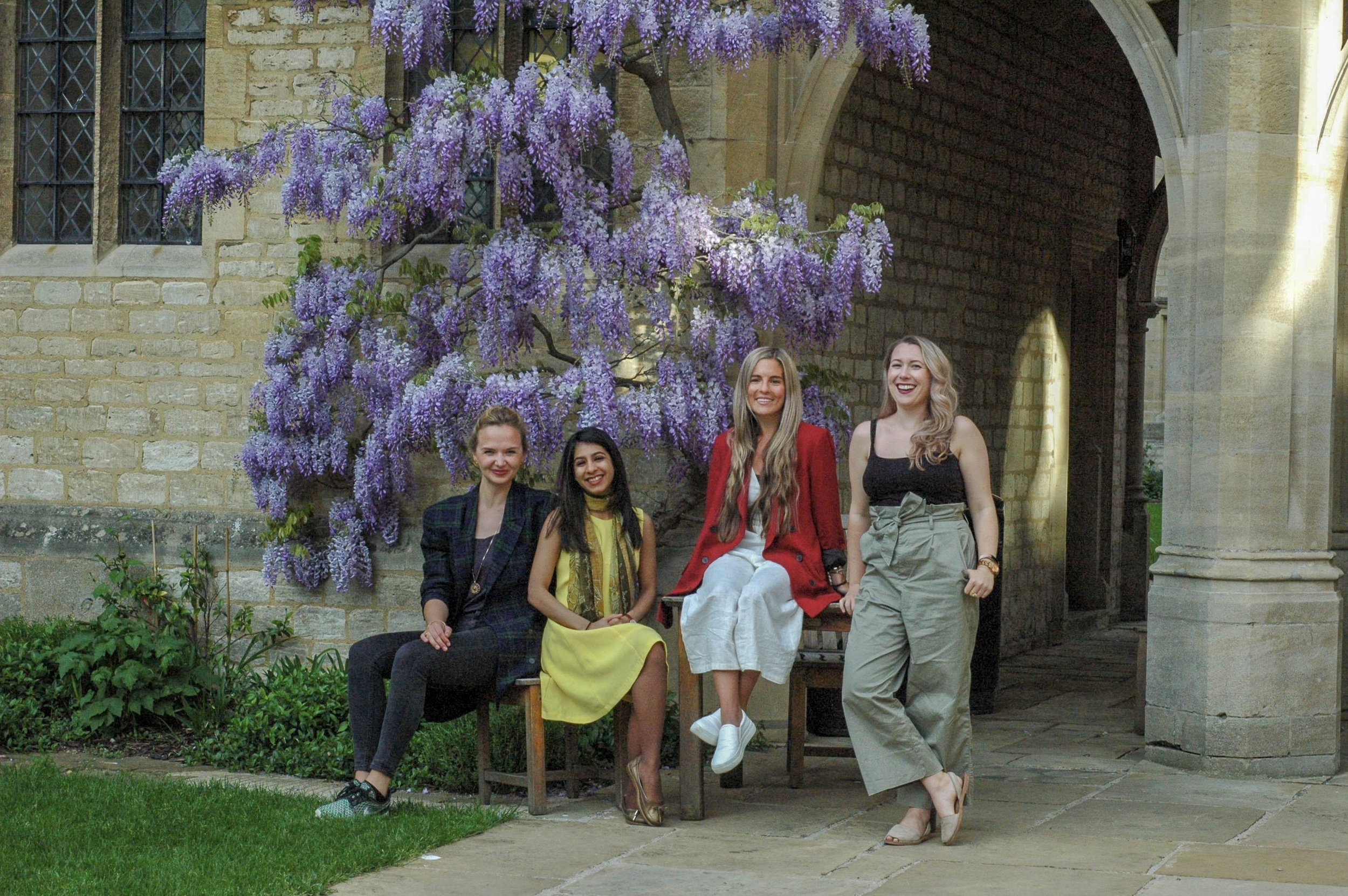 Centre for Feminist Foreign Policy St Cross Oxford Marissa Conway Kristina Lunz Jennifer Cassidy Sharinee Jagtiani