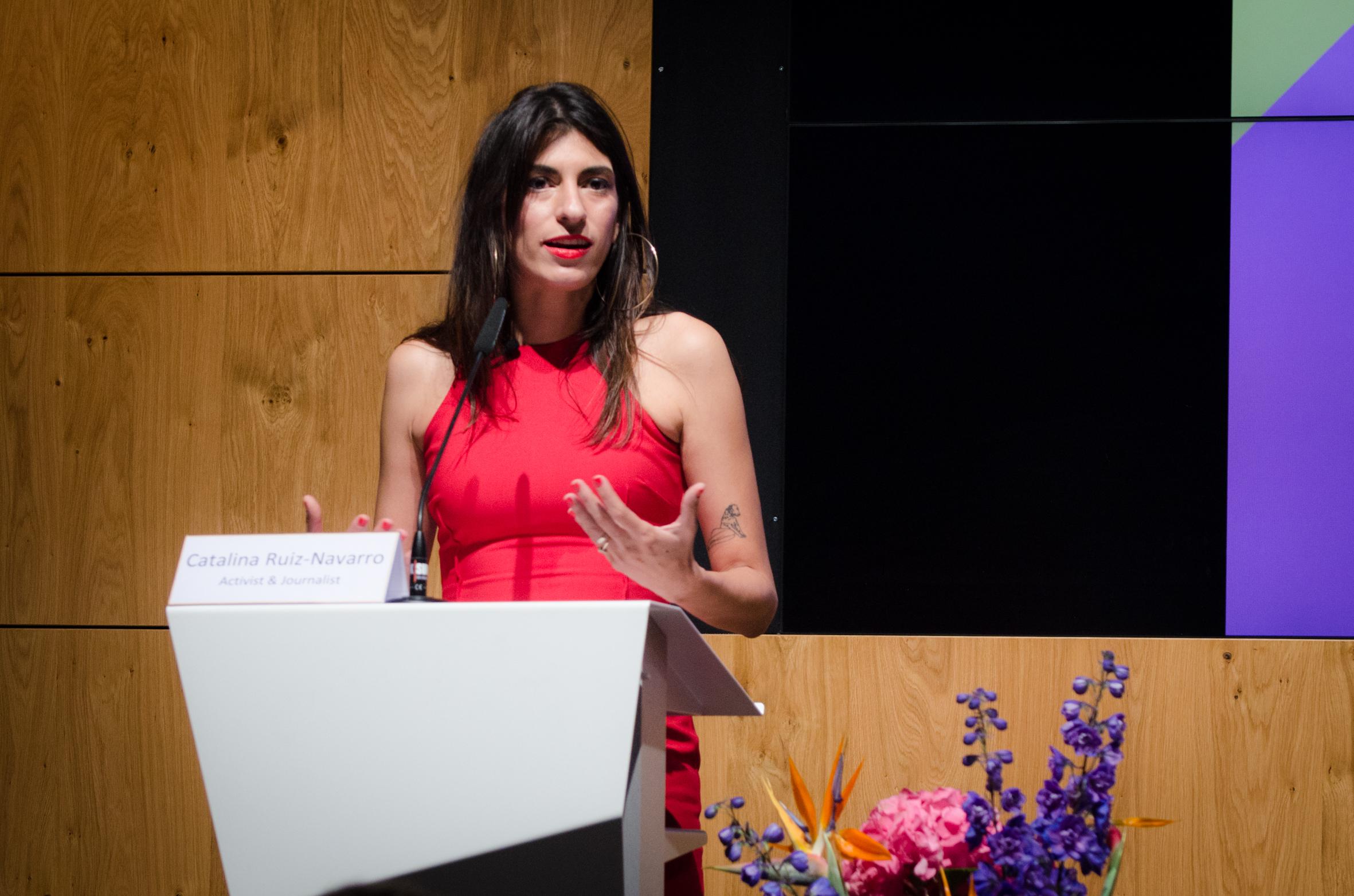 Catalina Ruiz-Navarro, Activist and Journalist, CFFP Advisory Council Member.