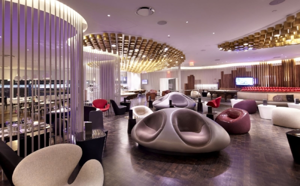 The Virgin Atlantic Clubhouse at JFK