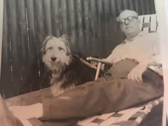 Holding Court: Grandpa and Ringo