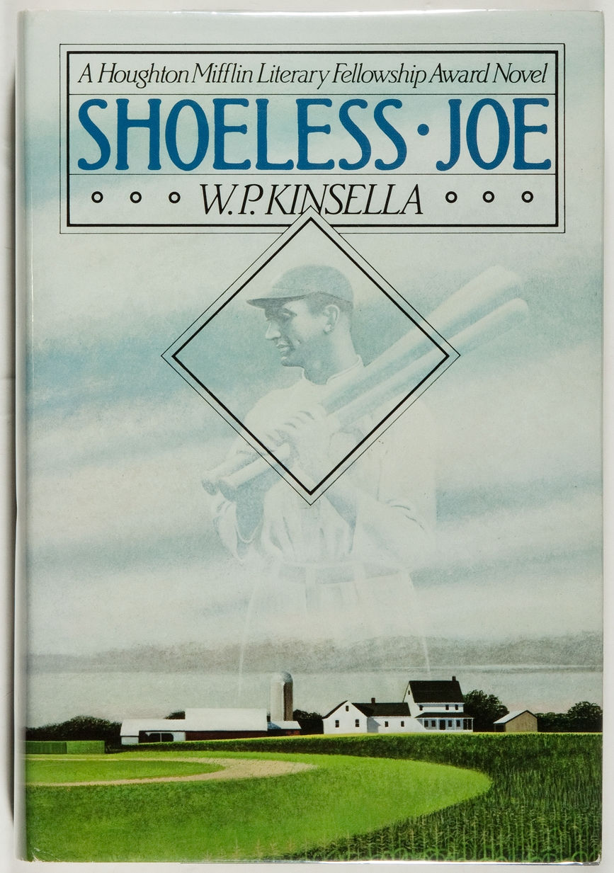 11. - Shoeless Joe, by W.P. Kinsella. Yes,