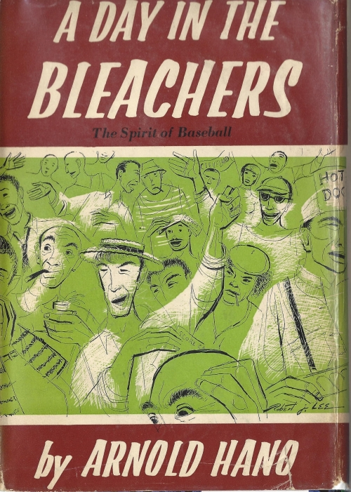 3. - A Day in the Bleachers, by Arnold Hano. From the subway ride to the game to the other fans surrounding him, Hano provides a captivating time capsule of what it was like to sit in the cheap seats at the Polo Grounds. It's Game 1 of the 1954 World Series and Mays still makes the catch.