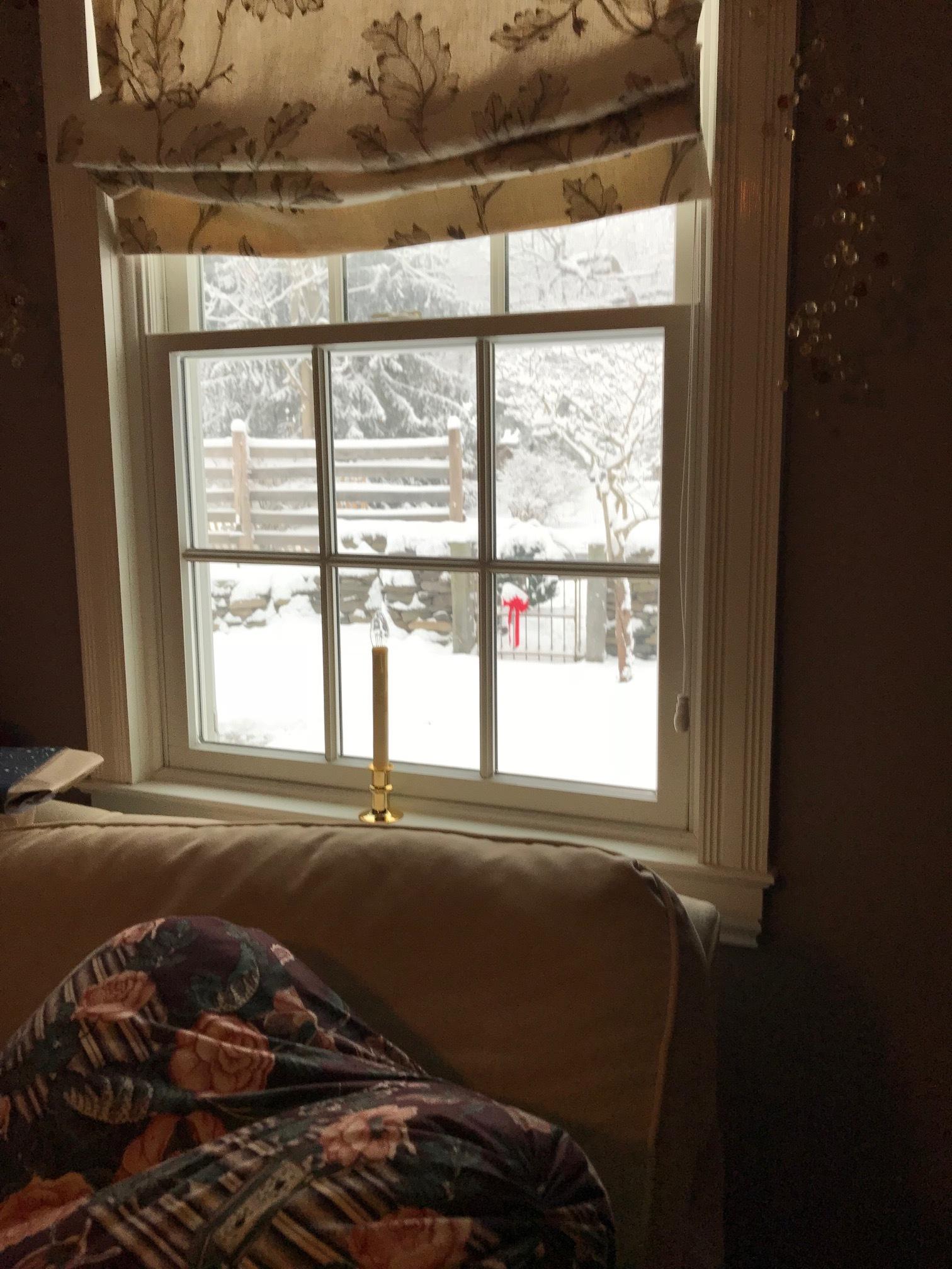 A December snow.