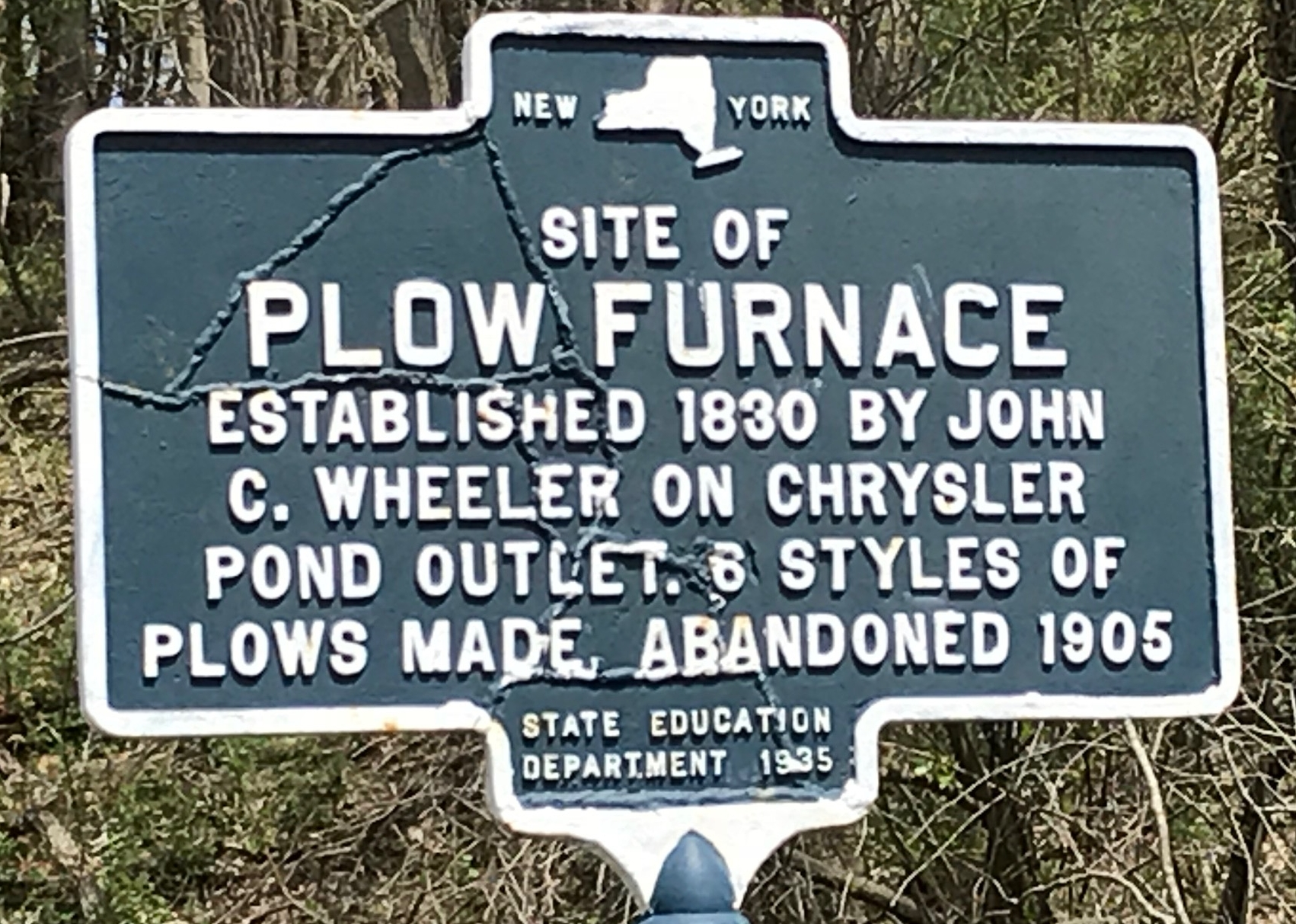 27 features a Plowman's Tale: The area was mined for iron for agricultural purposes.