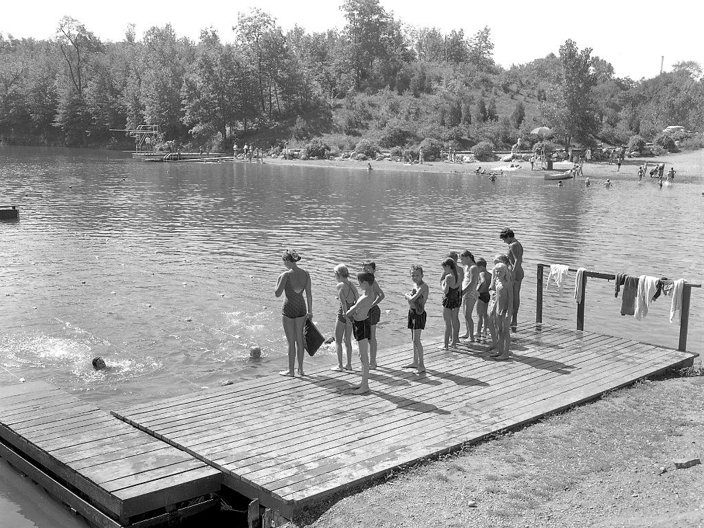 A beginners class in 1960.