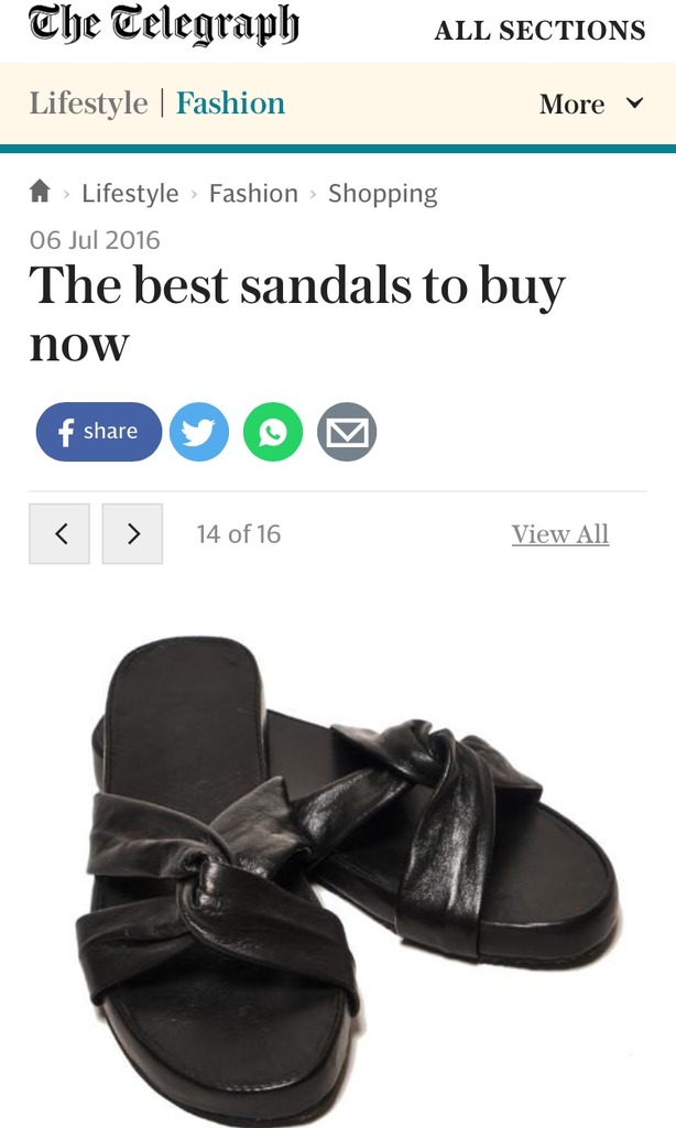 The Telegraph Fashion Online - 6th July 2016