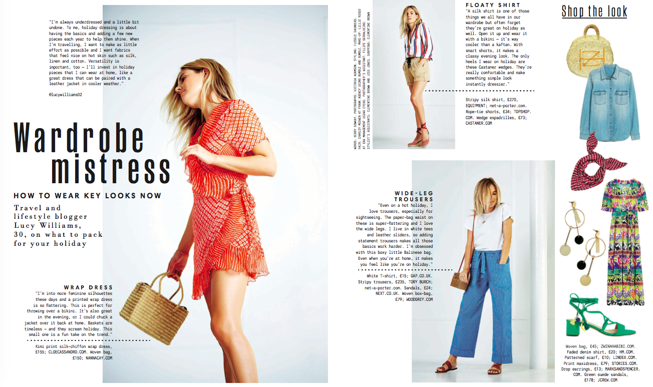 Lucy Williams for the Sunday Times Style