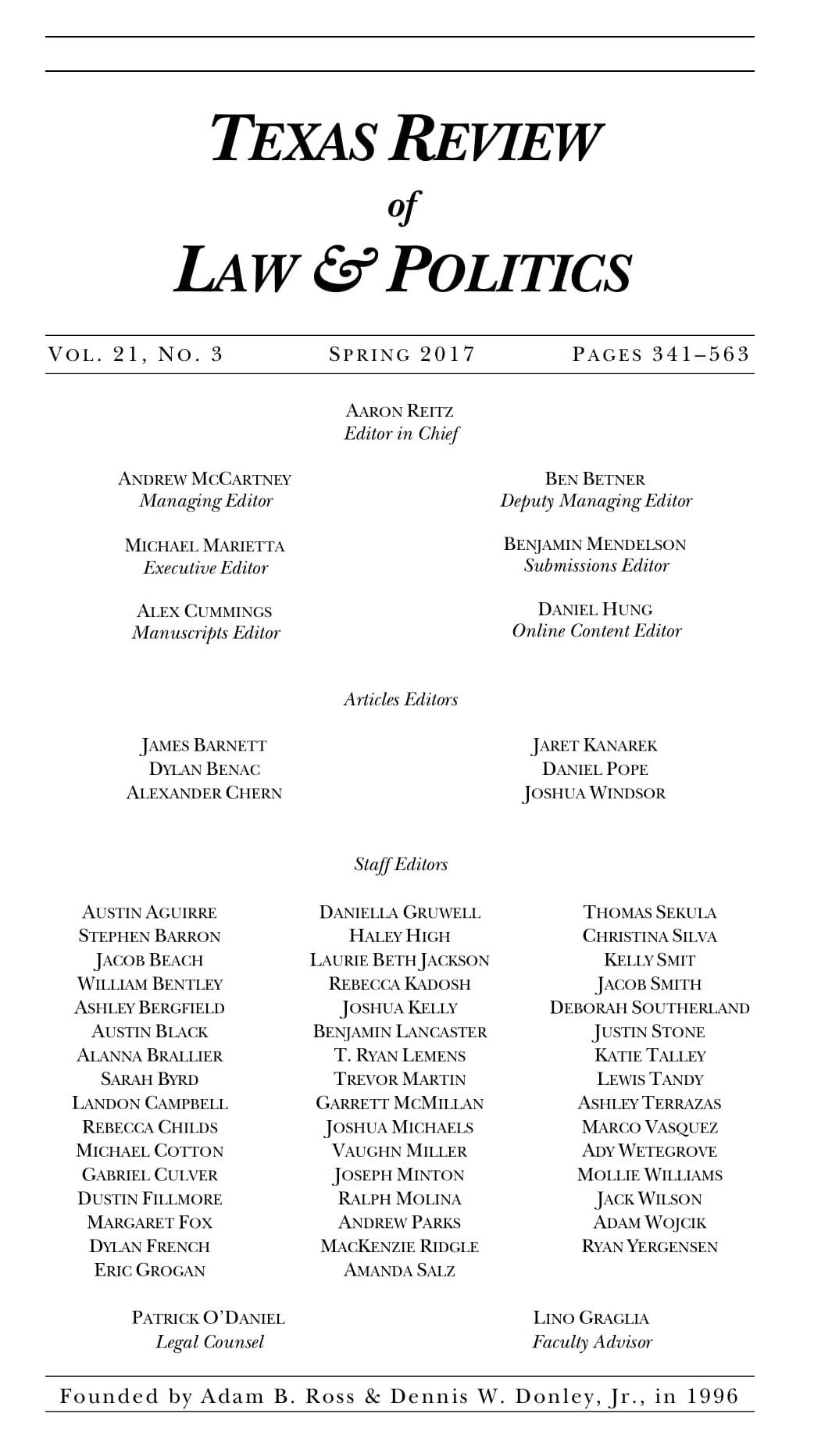 Vol 21 No 3