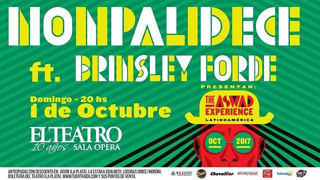 Y cerramos el domingo con más música ... Nos vemos en el Teatro Opera .La Plata !!!