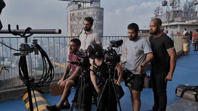 Making Of 🎬 Equipe atenta nas gravações do nosso documentário sobre masculinidades
