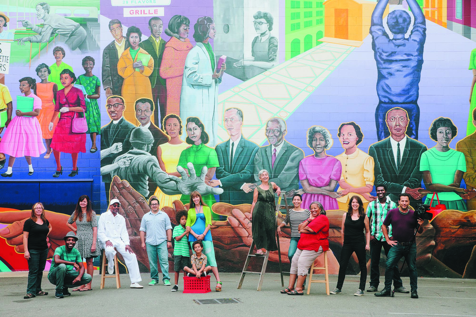 Civil Rights History Mural Project