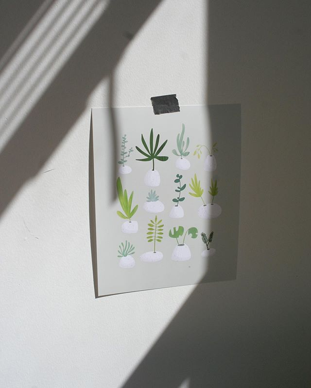 ☁️🌿✨🔦 new prints are here 😌