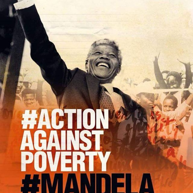 """To deny people their human rights is a challenge to their humanity."" #Mandela100 #Justice#MandelaDay#Changemakers#100yearsago"