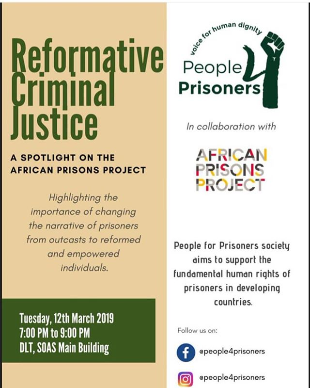 Have you registered for this free event? Register to join us on 12th March & find out more about the power of reformative justice. Our founder, Alexander McLean will be speaking at the event.  Sign up link in Bio.  #JusticeReform#Changemakers#Prisons #PrisonReform#Change#ThursdayThoughts#Register#Leadership