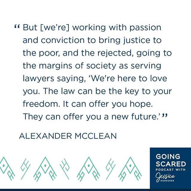 Listen to the inspiring story of Alexander McLean on why he started @africanprisons and find out how you can take bold steps from a broken heart as he speaks to @jessicahonegger on the Going Scared podcast. Link in Bio. #Changemakes#JusticeforAll#goingscaredpodcast#ThursdayThoughts#Africa#Prisons#AfricanPrisons