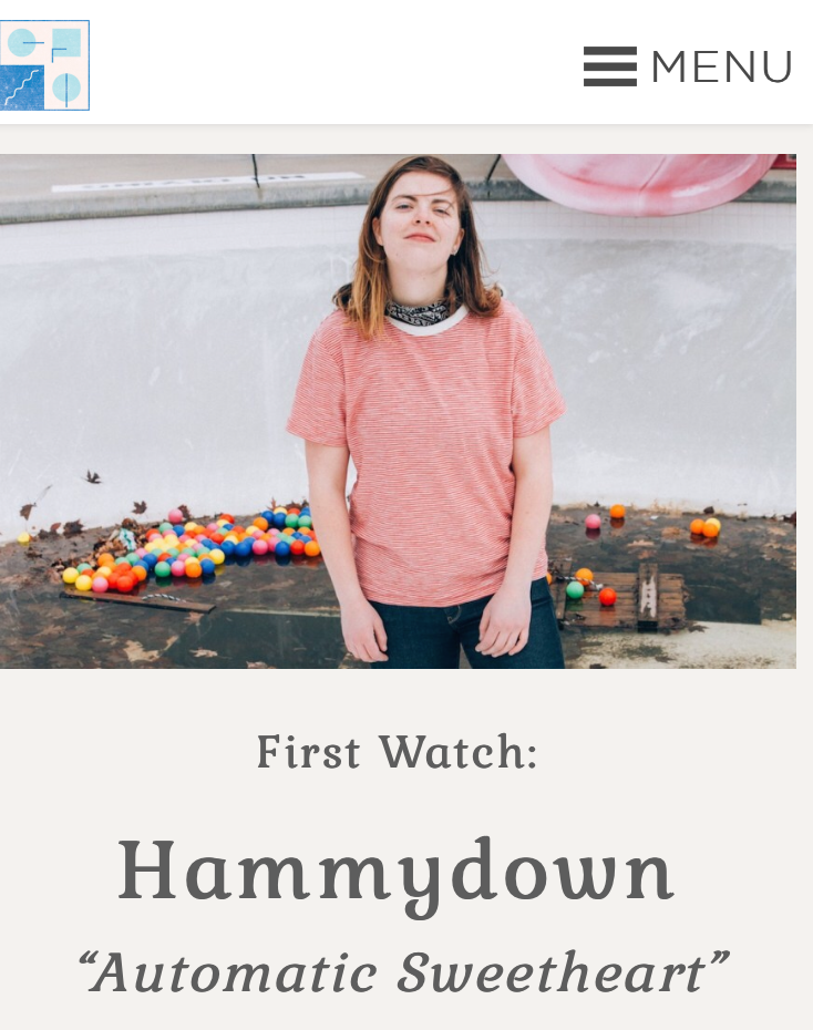 """GoldFlakePaint - """"Already likened to contemporaries such as Lucy Dacus and Diet Cig, Hammydown injects her work with a raw authenticity that remains somewhat hidden by the playfulness of it all, but undoubtedly exists"""
