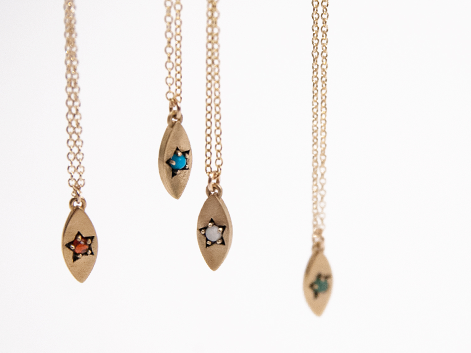 Birthstone Star Necklaces  , starting at $128