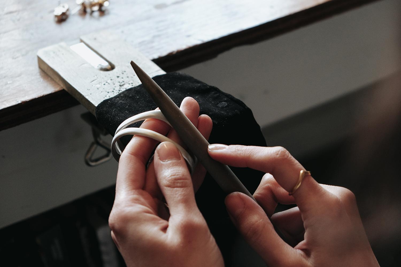 Filing a cuff.jpg