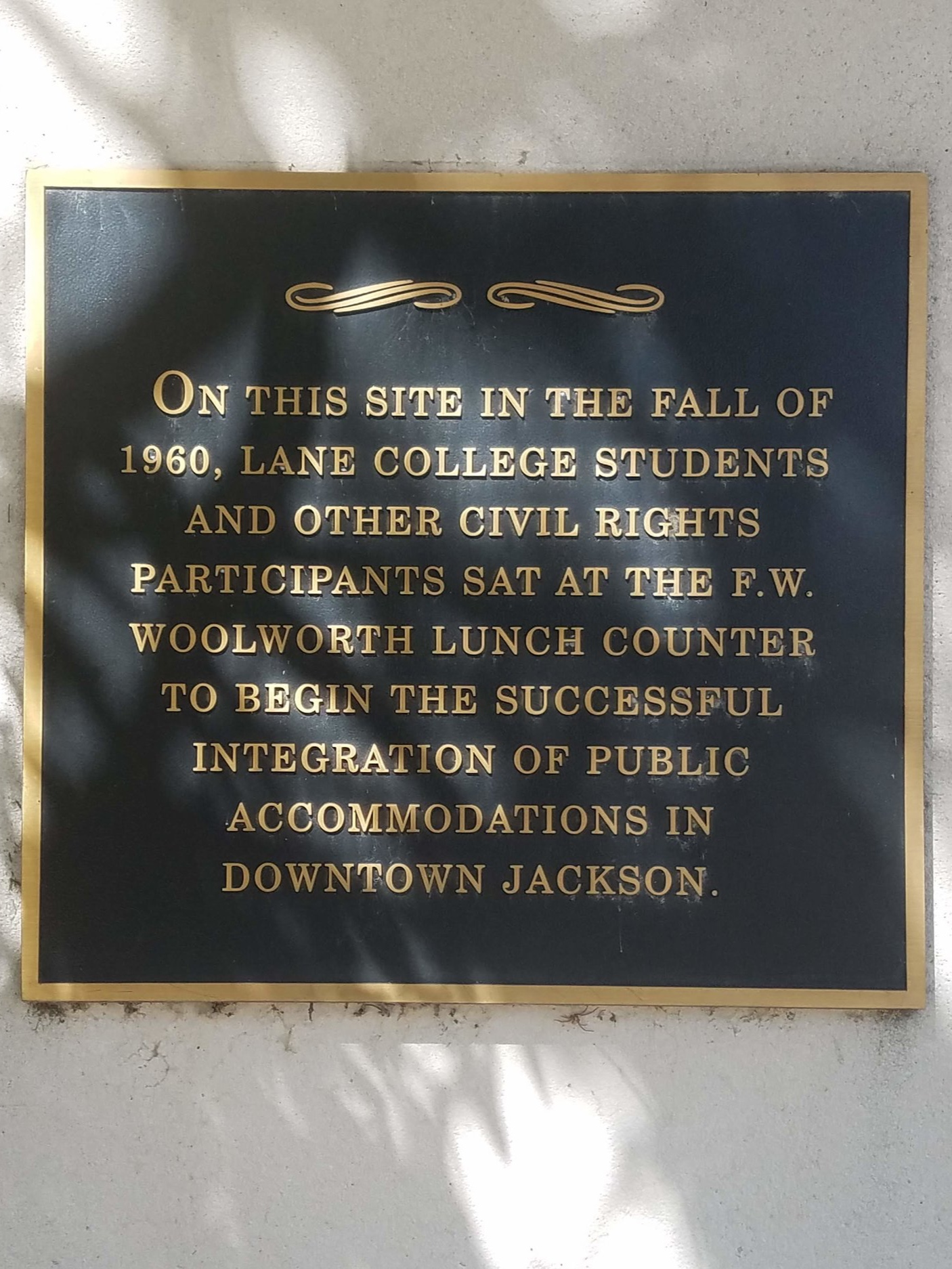 City Hall marker