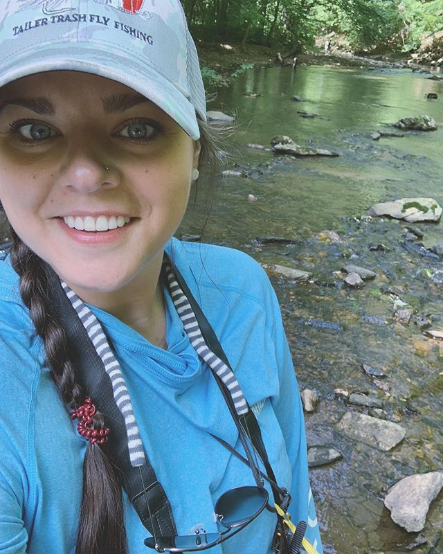 After a brief hiatus I'm BACK!! 🐟 • It felt so good to explore this new section of river! Plus it didn't hurt watching trout rise all day 🤤