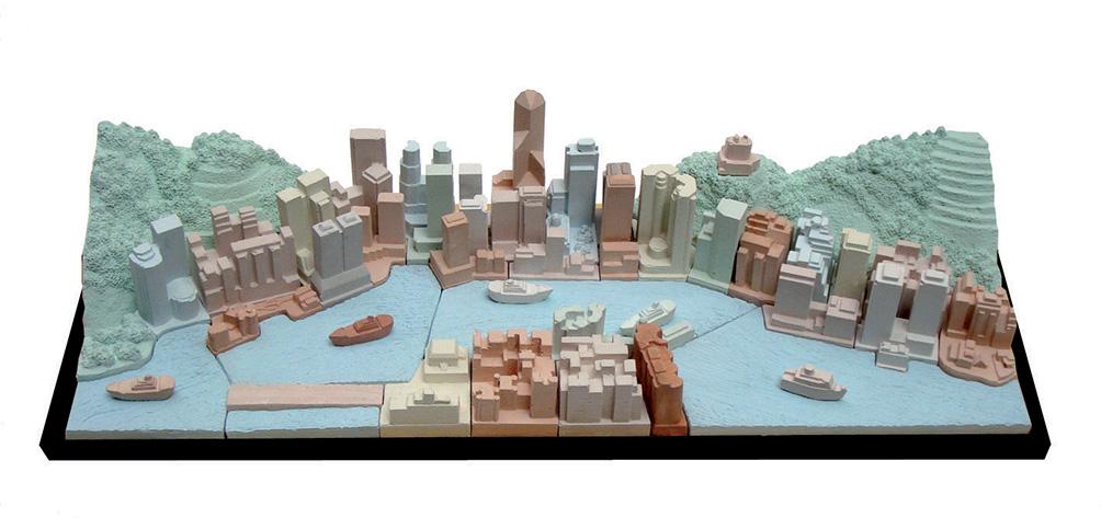 HONG KONG   -  cm. 52 X 17 - € 240,00