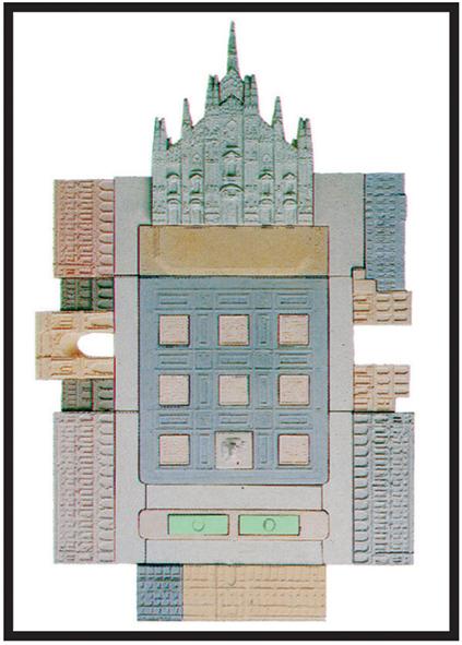 Piazza del Duomo, MILANO   cm. 50 x 70 - € 340,00