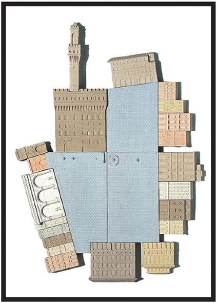 Piazza della Signoria, FIRENZE   cm. 50 x 70 - € 340,00