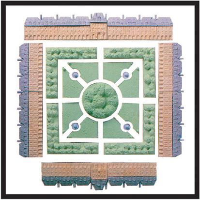 Place des Vosges, PARIS   cm. 50 x 50 - € 320,00