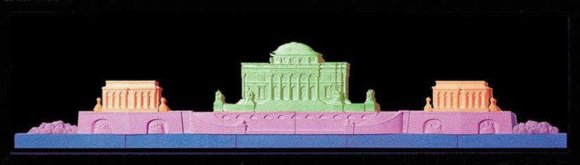 PALAZZO REALE - ROYAL PALACE - cm 140 x 40 - € 480,00