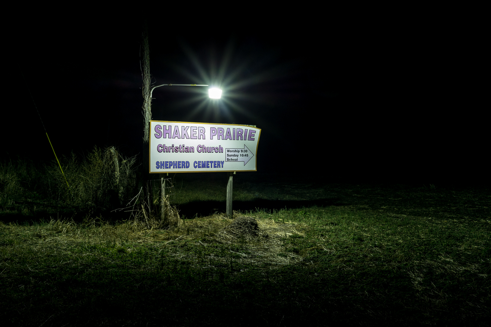 Shaker Prairie Christian Church Shepherd Cemetery, Carlisle, Indiana, 2017