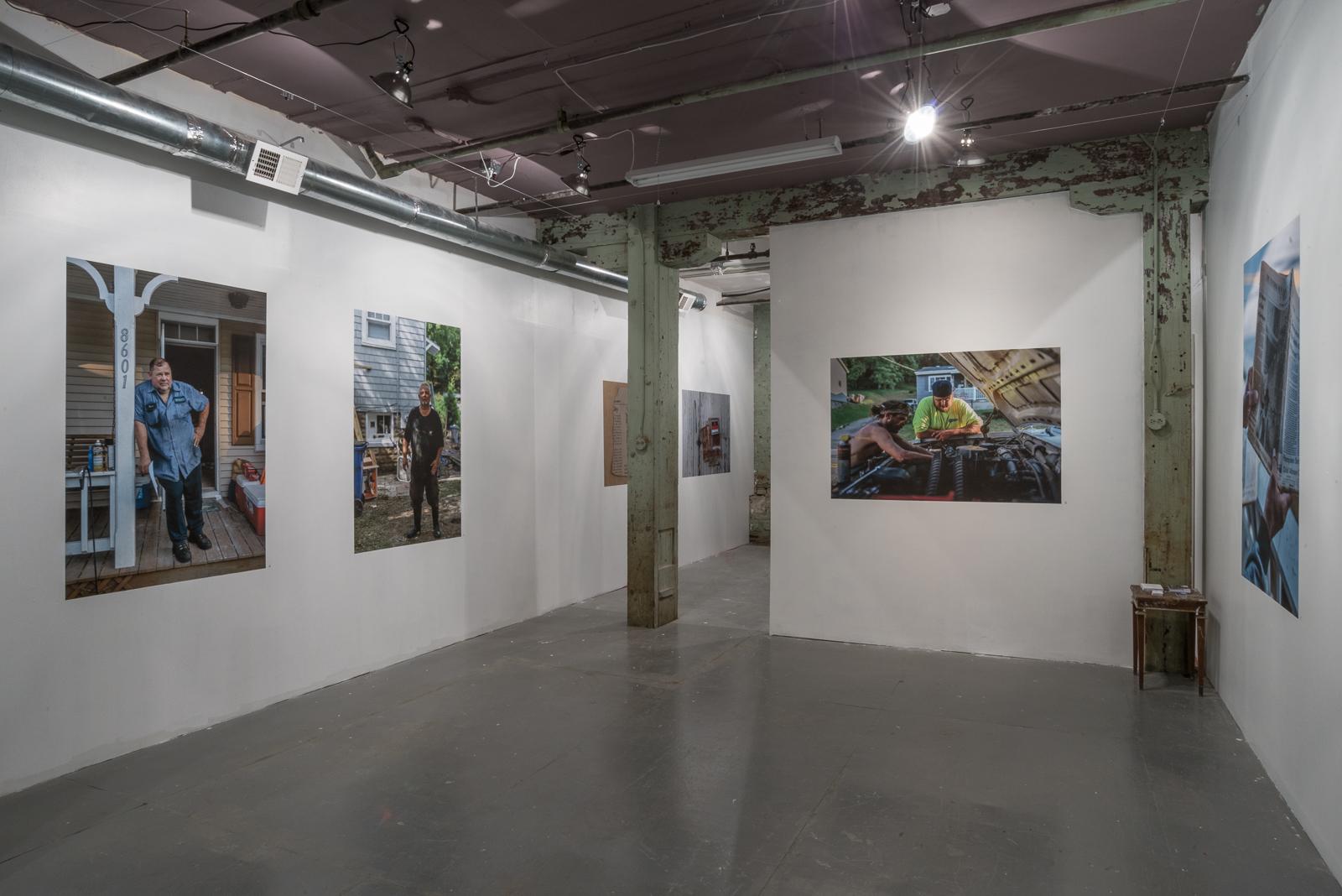 Installation at 'Sindikit, Baltimore, Maryland, 2017