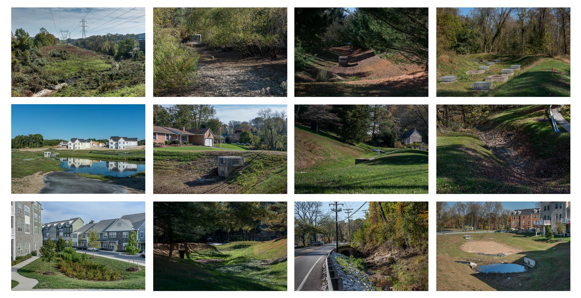 Twelve Inadequate Drainage Systems, Ellicott City, Maryland, 201