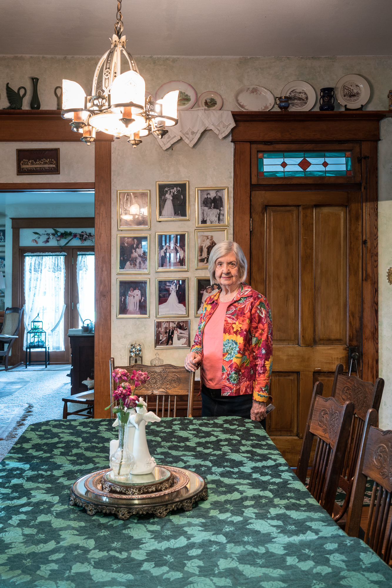 Marilyn at Home, Mascoutah, Illinois, 2017